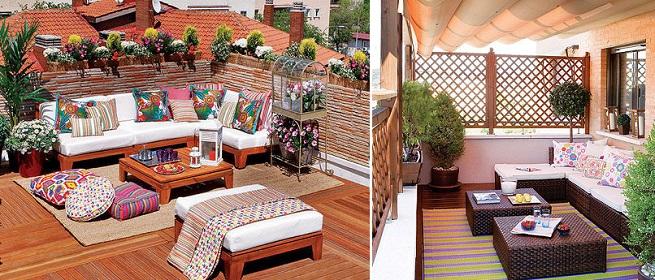 decorar una terraza con bajo presupuesto