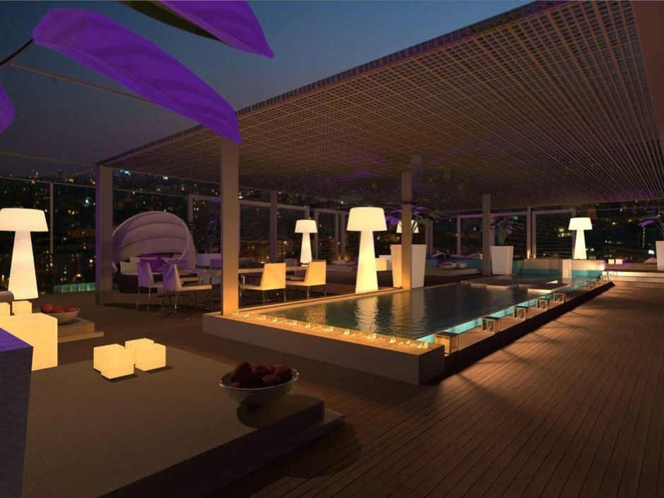 Terraza atico illa de la llum barcelona 10 for Terrazas de hoteles en barcelona
