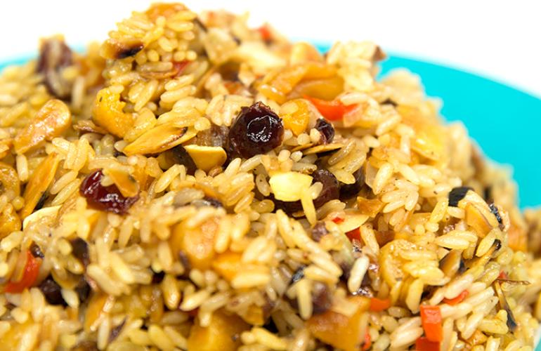 arroz-con-arandanos-albaricoques