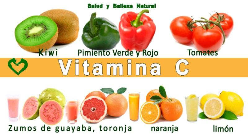 La vitamina c para estar mas bella - Alimentos con muchas vitaminas ...