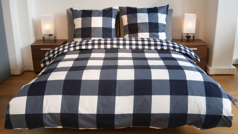 dormitorio azulado