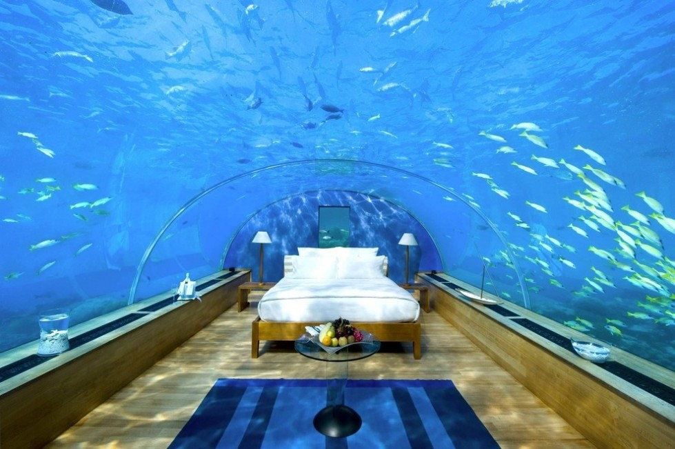 dormitorio acuatico