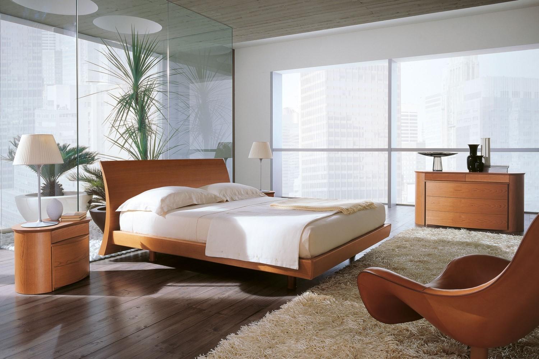 dormitorio moderno marron