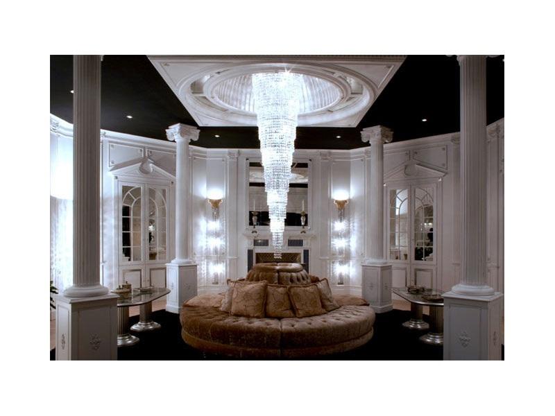 salon moderno circular