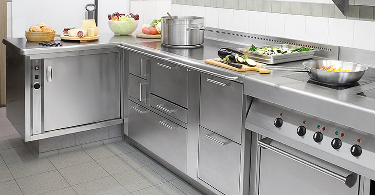 Beautiful Cucina Inox Usata Images - Skilifts.us - skilifts.us