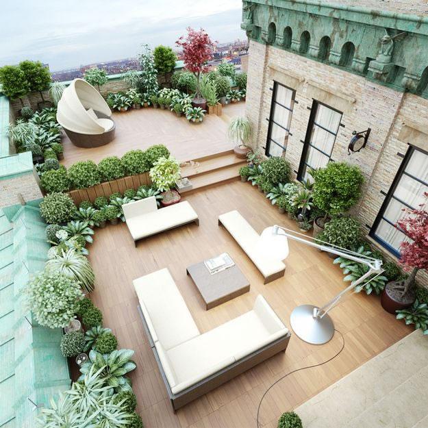 Terrazas y porches para cada lugar for Toldos para terrazas en azoteas