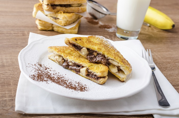 tostada-francesa-nutella