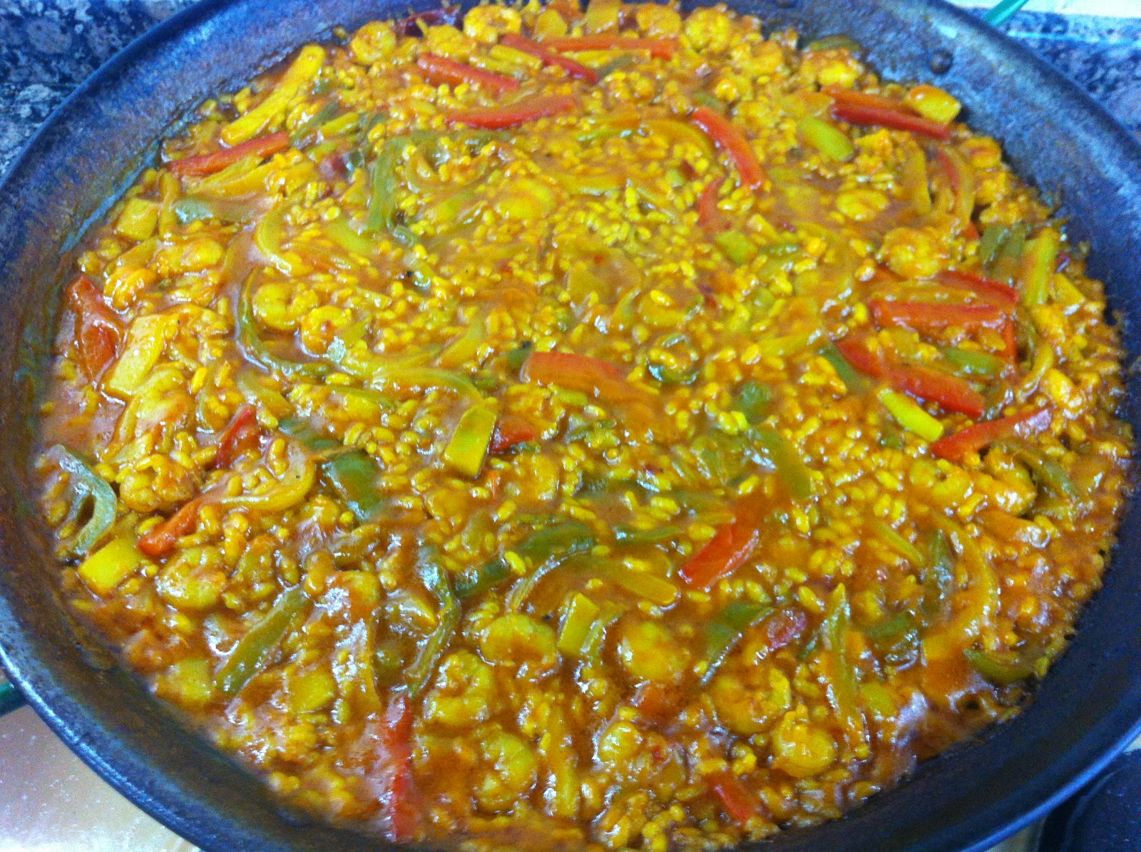 Arroz con verduras for Como hacer paella de verduras