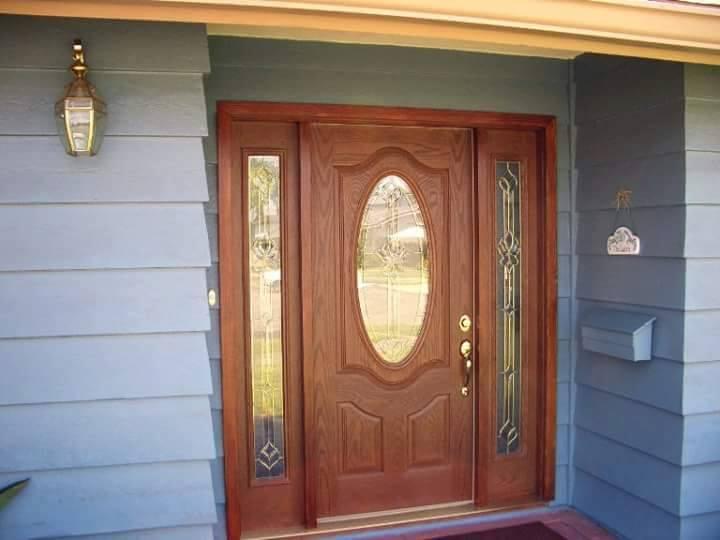 Puertas para exteriores for Tipos de puertas de casa