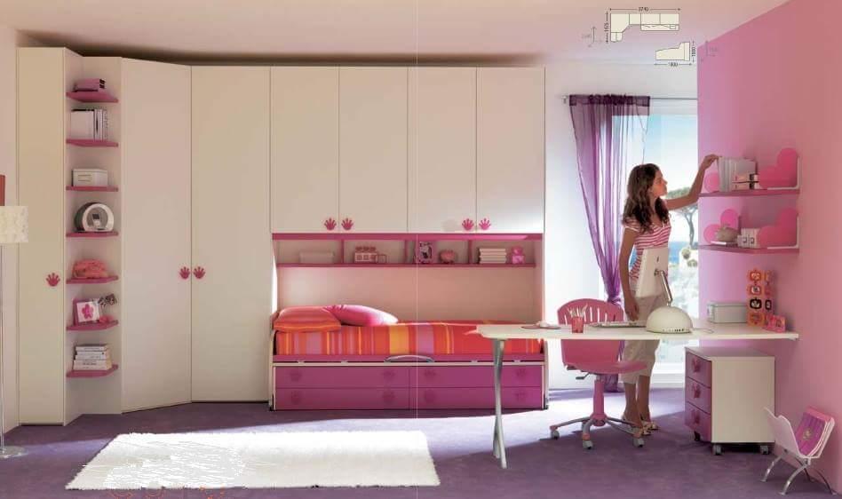 Dise o de interiores parte 1 - Gran casa camerette ...