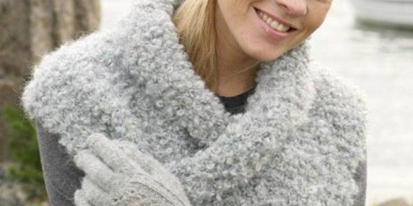 conjuto de bufanda-gorro-guantes