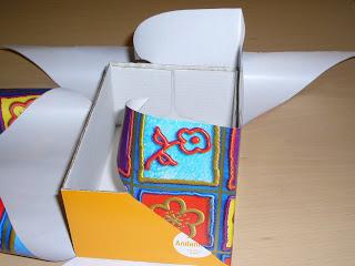 Aprenda a forrar con estas 5 ideas para forrar cajas - Decorar una caja de zapatos para ninos ...
