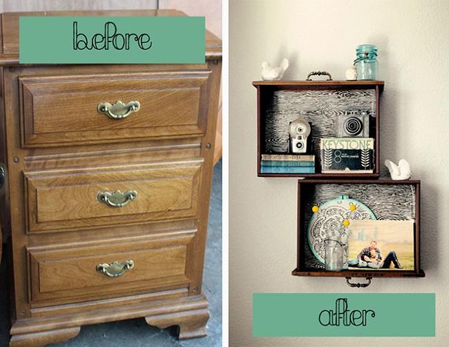 13 maneras de reciclar muebles antiguos - Reciclar muebles viejos ...