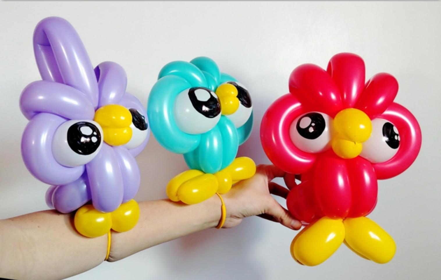 Figuras con globos formas de decorar el interior en fiestas Figuras