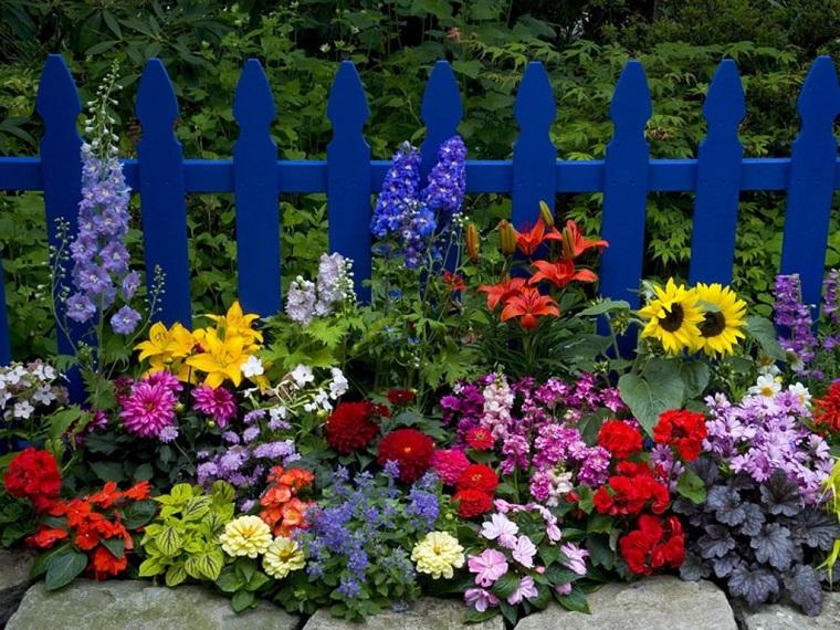 Flores Bonitas Para Poner En El Jardin Chispiscom - Flores-bonitas-para-jardin